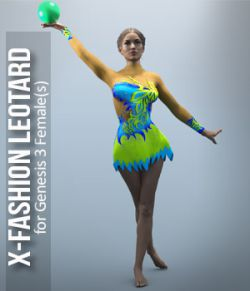 X_Fashion Leotard for G3F