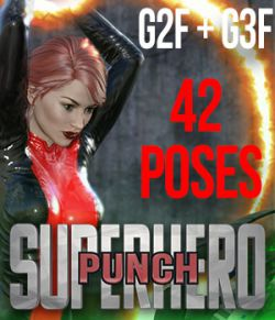 SuperHero Punch for G2F & G3F Volume 1