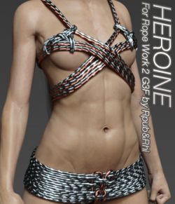 HEROINE- Rope Work 2 for G3F