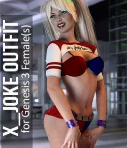 Joke Outfit for Genesis 3 Females