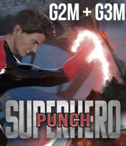 SuperHero Punch for G2M & G3M Volume 1