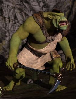Cave Ogre for Genesis 3 Male