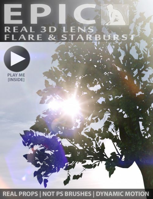 Epic Props: Dynamic Lens Flare & Starburst for Iray