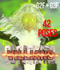SuperHero Villians for G2F &G3F Volume 1