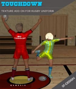 Touchdown Texture Add On for Rugby Uniform