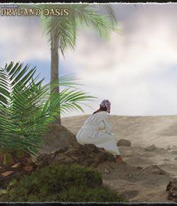 3D Scenery: Dryland Oasis
