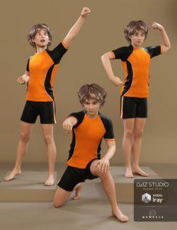 Hero Boy Poses for Tween Ryan 7