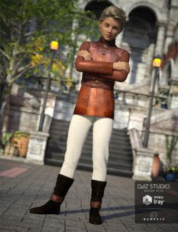 Medieval Prince Outfit for Genesis 3 Male(s)