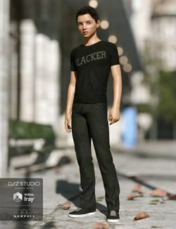 Slacker Outfit for Genesis 3 Male(s)