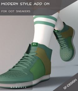 Modern Style Add On for OOT Sneakers for Genesis 3 Males