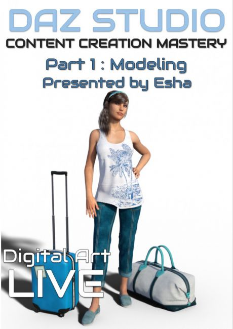 Daz Studio Content Creation Mastery Part 1