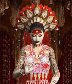 Goddess_Kumari Clothing for Victoria 4