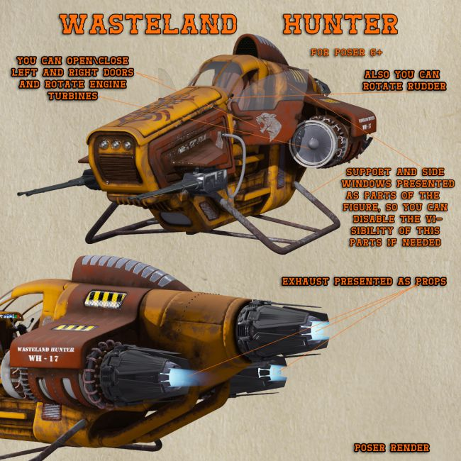 AJ Wasteland Hunter