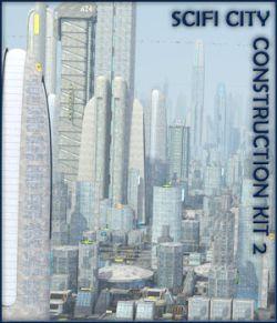 SciFi City Construction Set 2