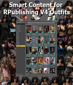 JDS Smart Content for RPublising V4 Outfits