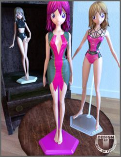Doll Display Stands and Poses for Star 2.0