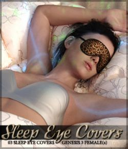 Sleep Eye Covers for Genesis 3 Female(s)