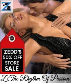 Z The Rhythm Of Passion - Poses for the Genesis 3 Males and Genesis 3 Females