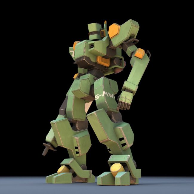 Sentinel Robot Mech (for DAZ Studio)   3D Models for Poser