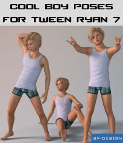 Cool Boy Poses for Tween Ryan 7