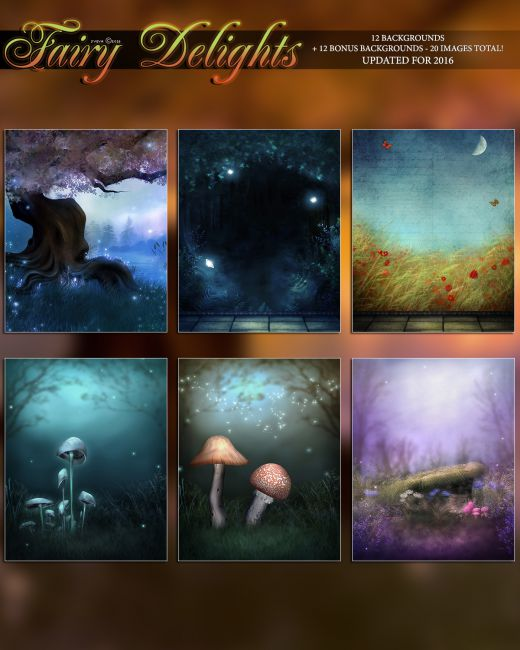 Fairy Delights Backgrounds