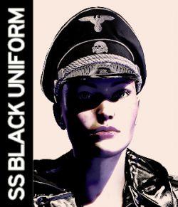 German SS Black Uniform V4