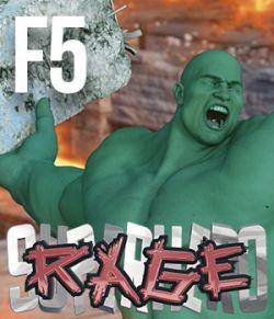 SuperHero Rage for Freak 5 Volume 1