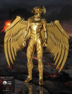 Sky Gods Horus for Genesis 3 Male(s)