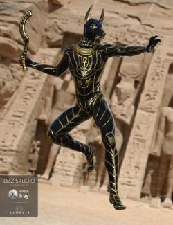 Sky Gods Anubis for Genesis 3 Male(s)