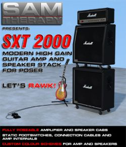 SXT2000 Modern High Gain Guitar Amp and Speaker Stack