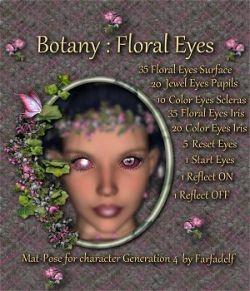 Botany: Floral Eyes
