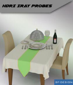 Radiance HDRI Iray Probes