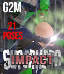 SuperHero Impact for G2M Volume 1