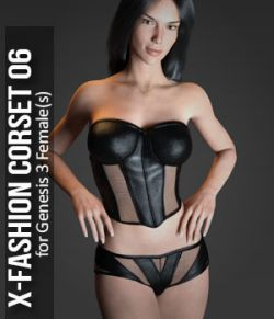 Fashion Corset-6 for Genesis 3 Females