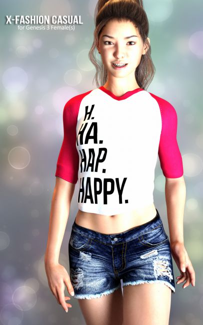 X-Fashion Casual for Genesis 3 Females