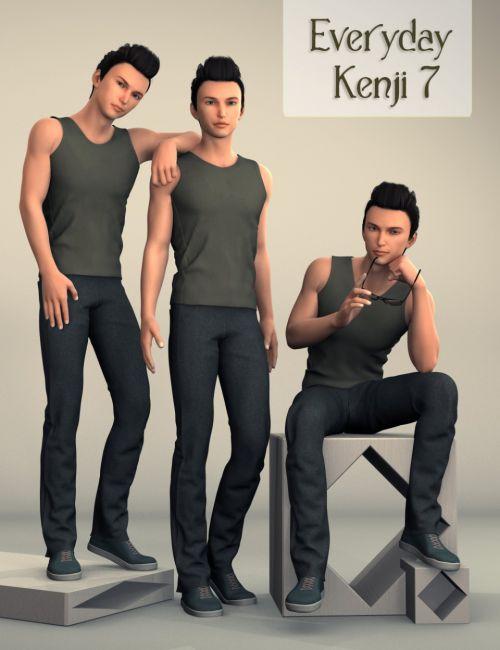 Everyday Kenji 7 Poses