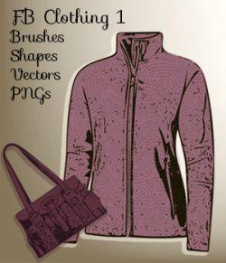 FB Clothing 1 Brushes, PNGs, Vectors, Custom Shapes - Merchant Resource