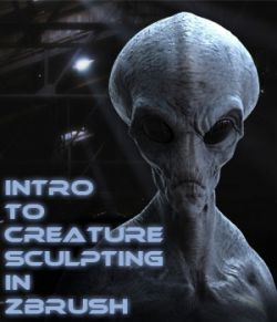 Introduction to Creature Sculpting in Zbrush - Project Grey Alien