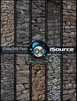 Brick Collection Merchant Resource - Vol3 (PBR Textures)