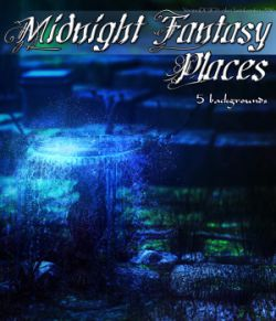 Midnight Fantasy Places- 2D backgrounds