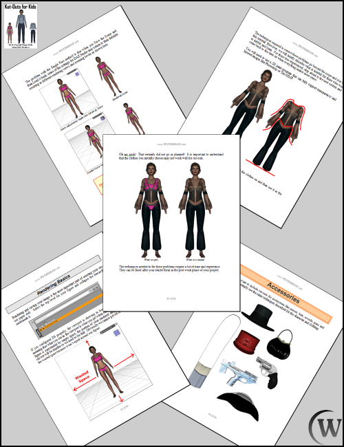 Kut-Outs for Kids: Do-It-Yourself (D.I.Y.) Paper Dolls