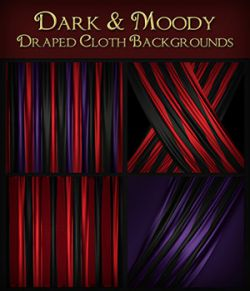 Dark and Moody Cloth Backgrounds