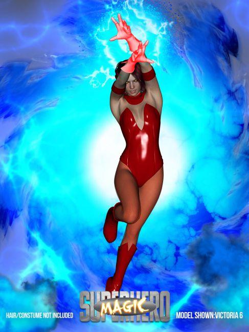 SuperHero Magic for G2F & G3F Volume 1