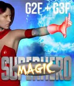 SuperHero Magic for G2F & G3F Volume 1
