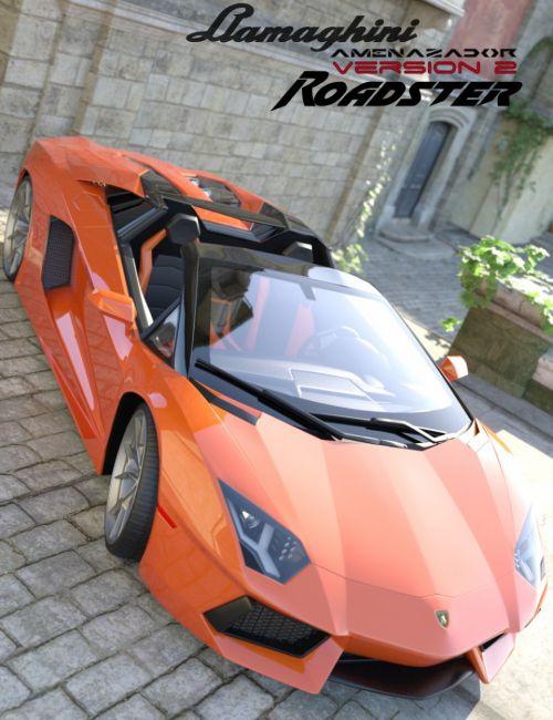 Llamaghini Amenazador Version 2 Roadster