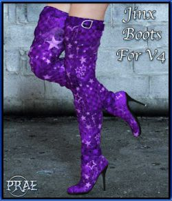 Jinx Boots for V4