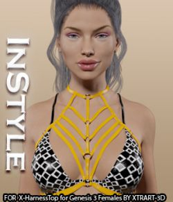 InStyle- X-HarnessTop for Genesis 3 Females