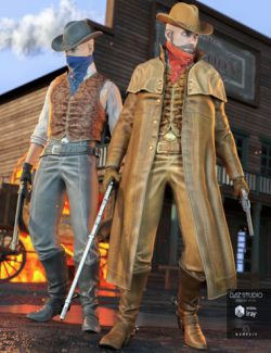 Western Outlaw 2.0 for Genesis 3 Male(s)