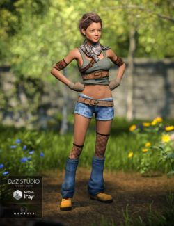 Quinn Outfit for Genesis 3 Female(s)