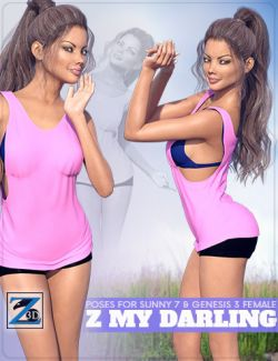 Z My Darling- Poses for Sunny 7 & Genesis 3 Female